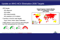 First Steps in HCV Elimination: Improved Screening and Linkage to Care Approaches - Updated 5/15/20
